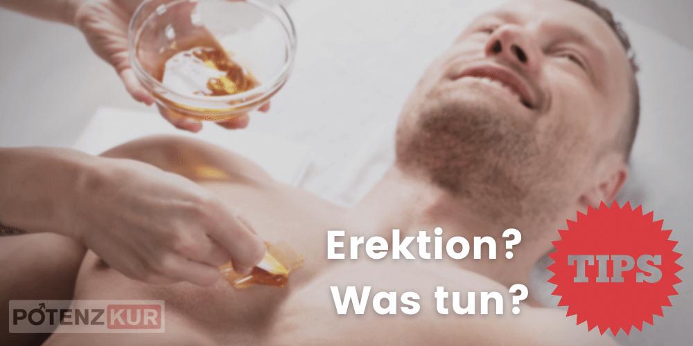 erektion-waxing-was-tun